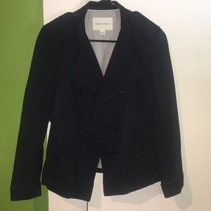 Navy, Cotton fall jacket